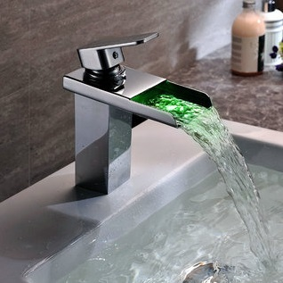 Décor Tip: Color Changing LED Faucet