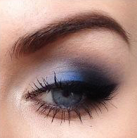 Styling- und Beauty-Tipp Berlin | Blaues Smokey Eye Make-up