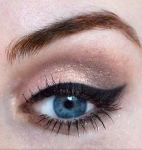 Stiili- ja ilunipp Berliin | # Glitter Bronze meik