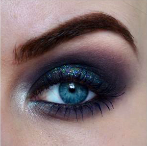 Styling- und Beauty-Tipp Berlin | Galaxy inspired Clubbing Make-up