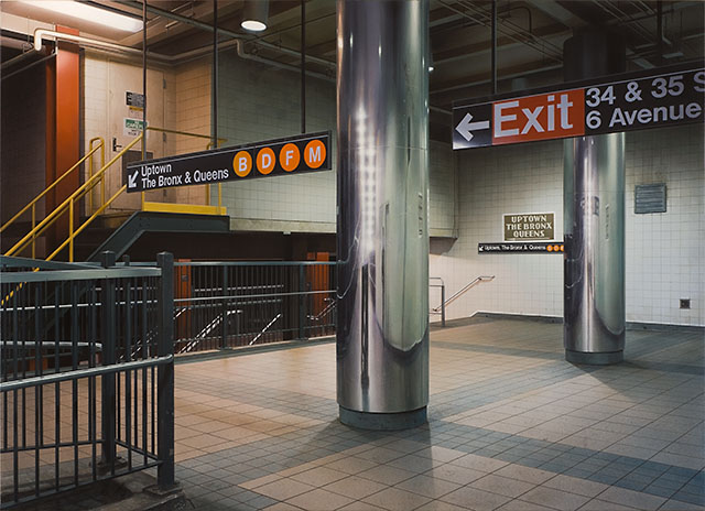 Outstanding Artists | Hisaya Taira - Metro stations in oil