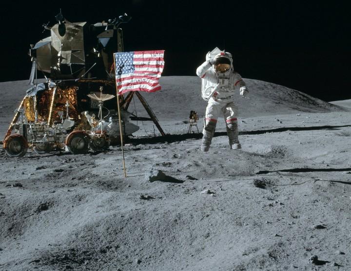 Jahrestag der Mondlandung -21.07.1969