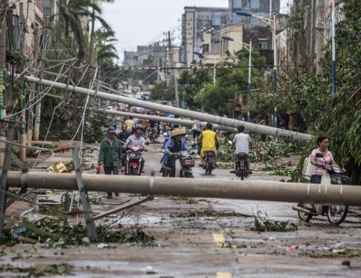 News: Taifun wütet in Südost- und Ostasien