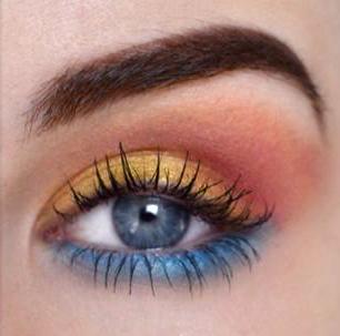 Stilichezza è Bellezza Cunsigliu Berlinu | U maquillaje inspiratu à u tramontu
