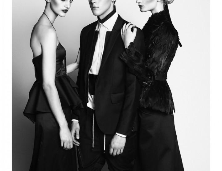 Mercedes-Benz Fashion Week Berlin Juli 2014 präsentiert – David Andersen, für Sie & Ihn FS14