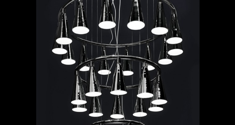"Interior Designer Oki Sato | Luster ""bat"" by Nendo"