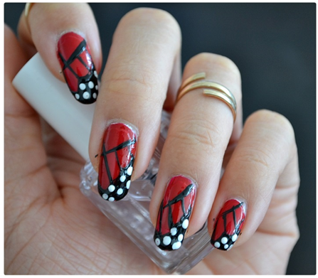 Manicure Monday | NAIL TUTORIAL #ButterflyWings