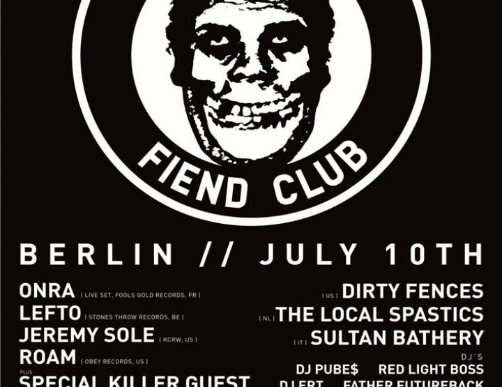 Berlin Fashion Week 2014: Bright Tradeshow - Obey Fiend Club