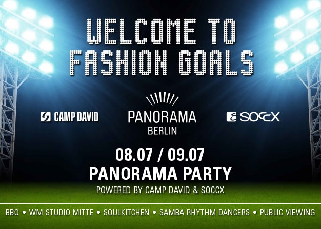 Panorama Berlin - Welcome to Fashion Goals!