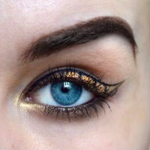 Styling and Beauty Tip Berlin | Snakeskin inspired Eyeliner