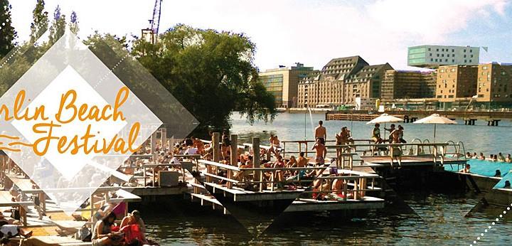 Veranstaltungstipp Berlin: Beach Festival im Badeschiff