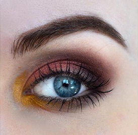 Styling and Beauty Tip Berlin | Fall inspired eye makeup
