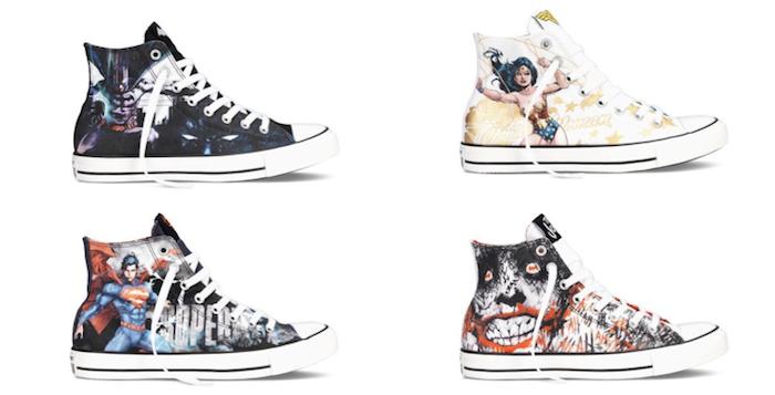 Die schönsten Sneaker 2014: DC Comics x Converse Chuck Taylor