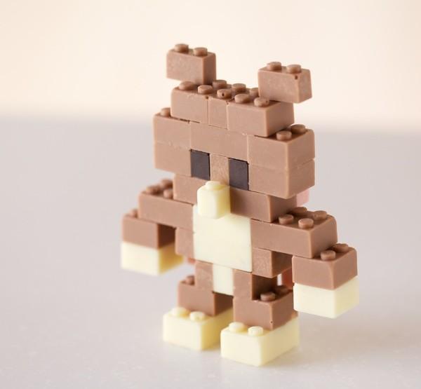 Neues aus Fernost: Schoko-Lego
