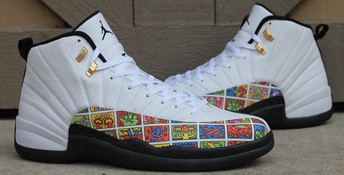 """Die schönsten Sneaker 2014: Air Jordan 12 """"Keith Haring"""""""