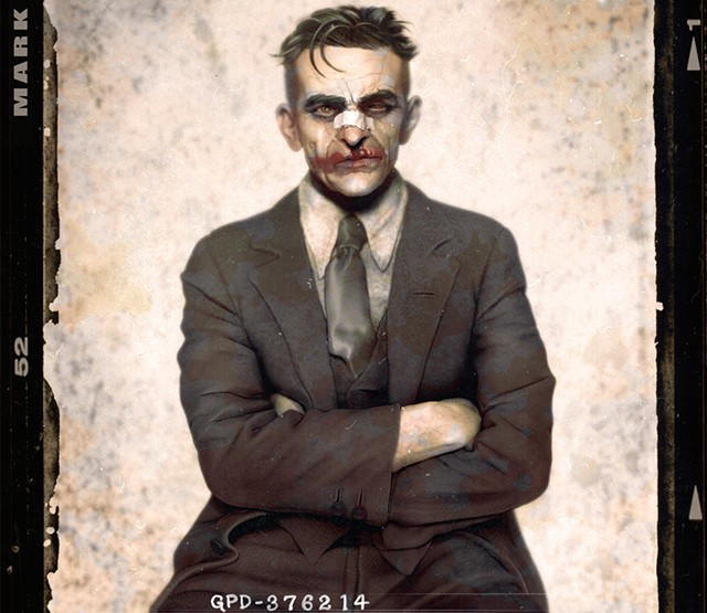 Künstler im Fokus: Jason Mark - Batman Noir Mugshots