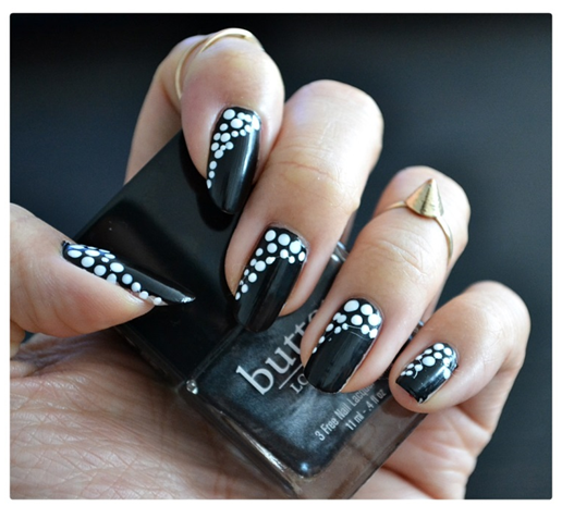 Manicure Monday | NAIL TUTORIAL #DotCurtain