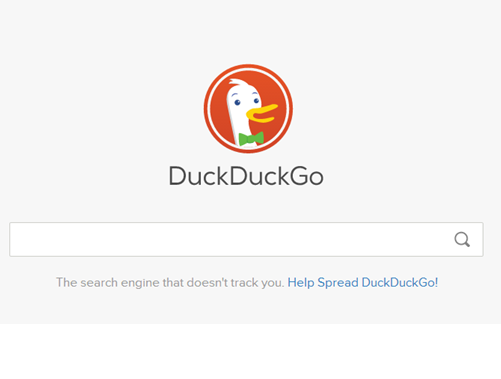 DuckDuckGo  The ultimate anonymous search engine?