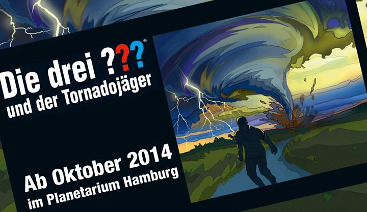 Veranstaltungstipp Hamburg: Die drei ??? im Planetarium!