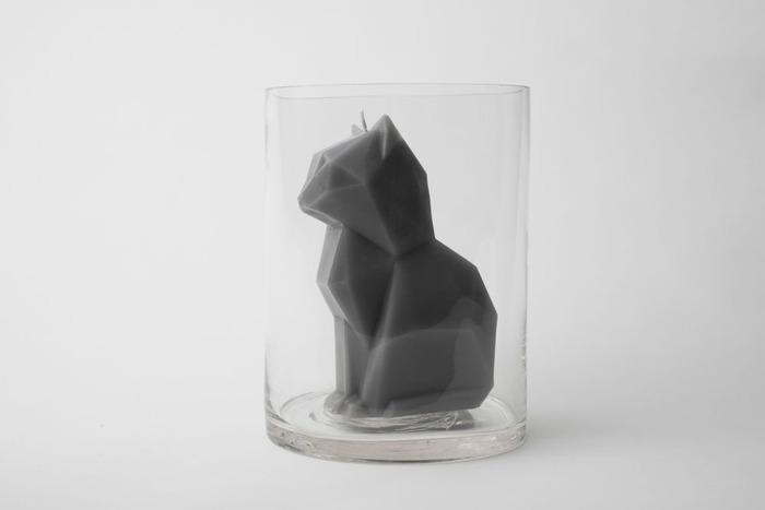 Die coolsten Home & Living Accessoires: PyroPet Katzen-Kerzen