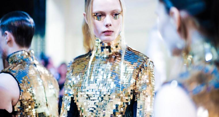 Fashion Trends 2014/15: Lamé Look: Schriller als Christbaumkugeln