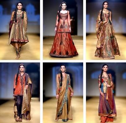 Bangalore Fashion Week August 2014 präsentiert - Ashima Leena, für Sie