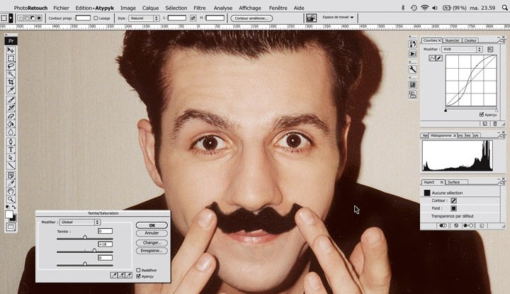 Einrichtungstipp: Der Photoshop-Spiegel!