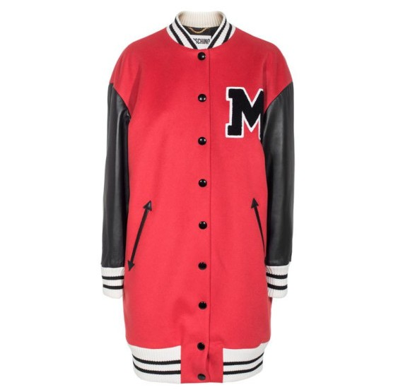 Must-Buy der Woche: Moschino Triple M College Red Jacke