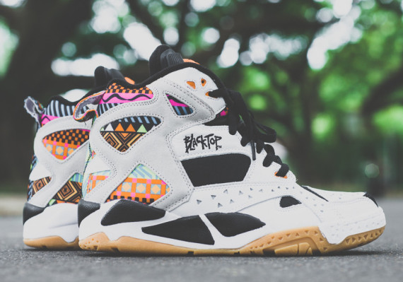 "Die schönsten Sneaker 2014: Reebok Blacktop Battleground ""Aztec Print"""