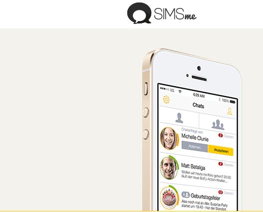 SIMSme | Angriff der Deutschen Post auf Whatsapp!