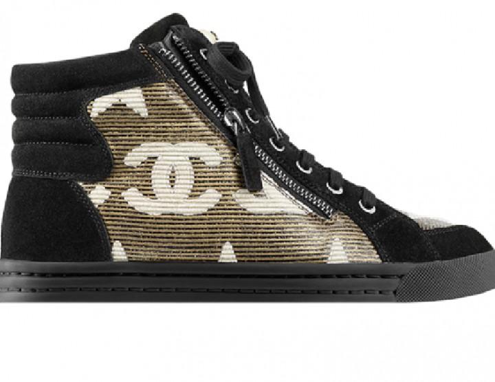 Die schönsten Wmns Sneaker 2014: Chanel Sneaker