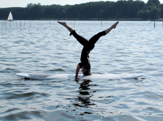 Friday ChitChat| Neue Trendsportart: Yoga on Water