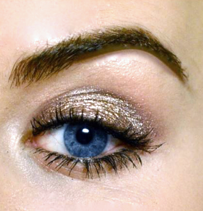 Styling- und Beauty-Tipp Berlin | Metallic Eyes