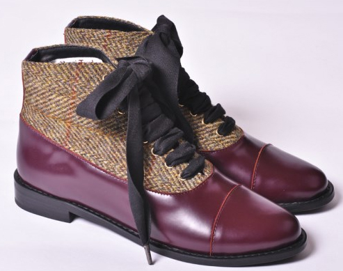 Die coolsten Boots 2014: F-Troupe Leather and Tweed