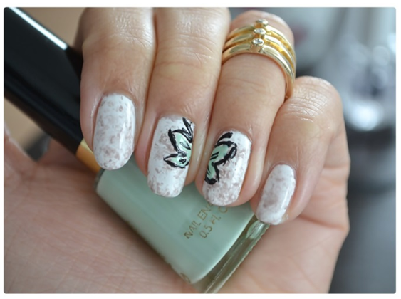 Manicure Monday | NAIL TUTORIAL #TwoButterflyWings