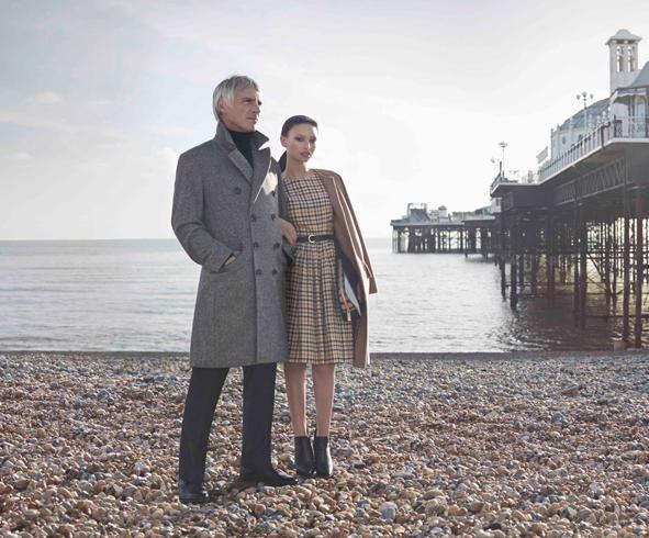 London Fashion Week, September 2014 präsentiert – DAKS, für Sie & Ihn - HW14