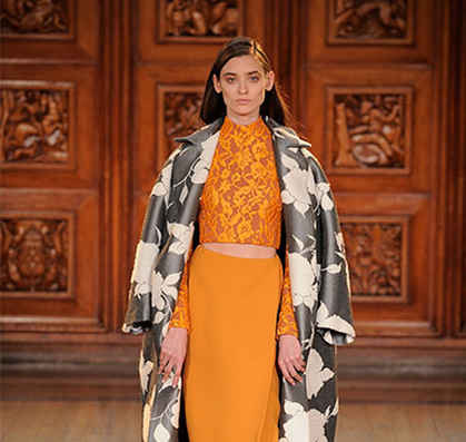 London Fashion Week, September 2014 präsentiert – Emilia Wickstead, für Sie