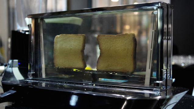 Einrichtungstipp: Durchsichtige Toaster-Bugatti Noun