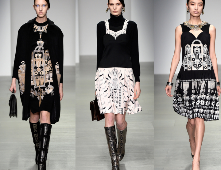 London Fashion Week, September 2014 präsentiert – Holly Fulton, für Sie HW14/15 + FS15