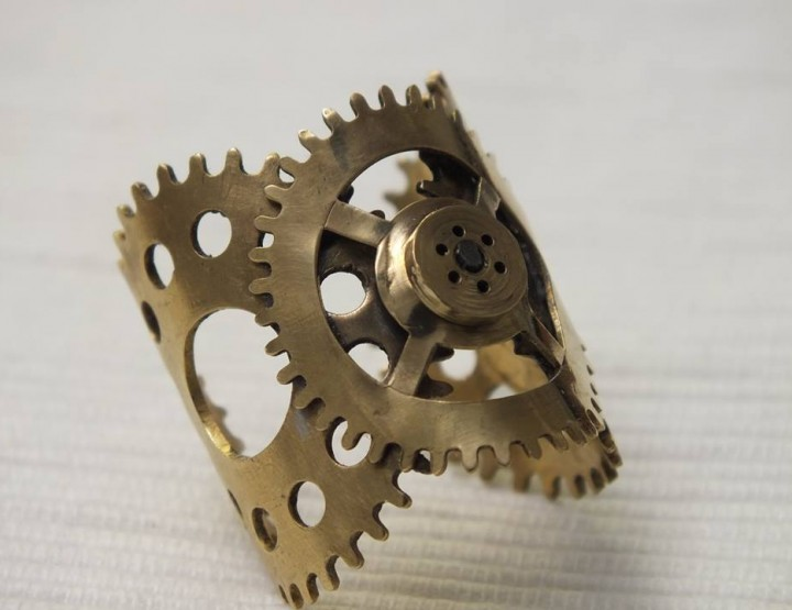 MQ Vienna Fashion Week September 2014 presents – Kupferdach Production Steampunk Jewelry and Couture, for men & women