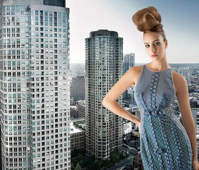 Couture Fashion Week New York September 2014 präsentiert – Carlos Vigil, für Sie