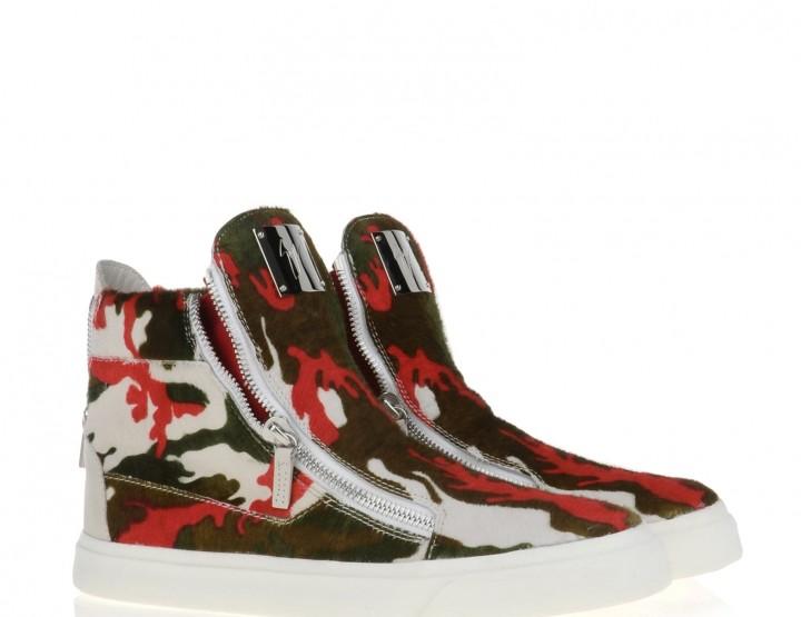 Die schönsten Sneaker 2014: Giuseppe Zanotti Design - High Top Sneaker