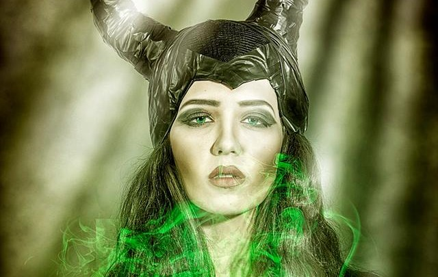Disney vs. Living Faces Make-up Academy: Maleficent Shooting
