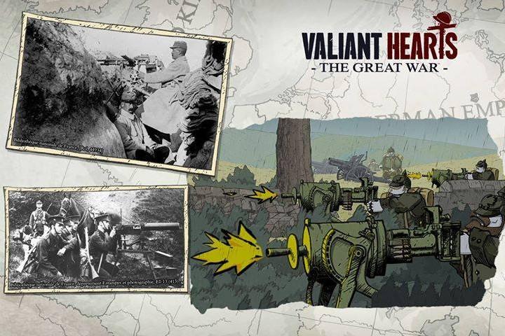 Gaming-Tipp | Valiant Hearts: The Great War - Der Erste Weltkrieg als Setting