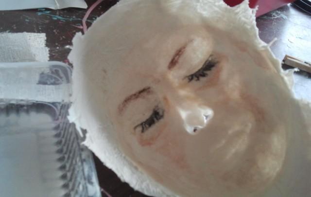 Living Faces Make-up Artist Schule Berlin: Gipsgesichter überall!