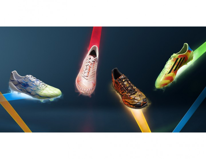adidas is presenting a new soccer shoe collection with Crazylight technology