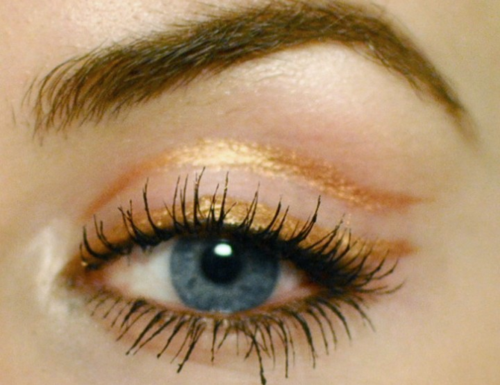 Styling- und Beauty-Tipp Berlin | Copper Eyeliner