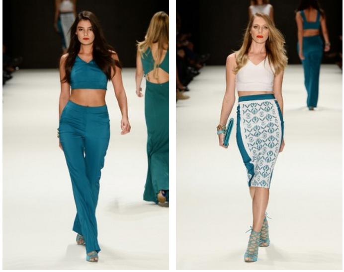 Mercedes-Benz Fashion Week Istanbul, Oktober 2014 präsentiert – ADL & Cengiz Abazoglu, für Sie - FS14