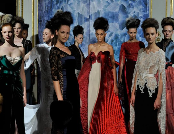 Paris Fashion Week, September/Oktober 2014 präsentiert – Alexis Mabille, für Sie - Haute Couture HW 14/15