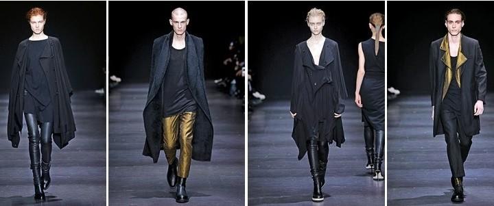 Paris Fashion Week, September/Oktober 2014 präsentiert – Ann Demeulemeester, für Sie & Ihn - HW 14/15